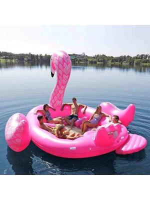 Riese FlamingoAufblasbar Schwimmend Bett Schwimmen Schwimmbad Party