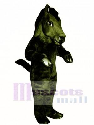 Mustang Pferd Maskottchen Kostüm Tier