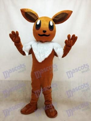 Pokémon Pokemon Go Eevee Eievui Brown Maskottchen Kostüm