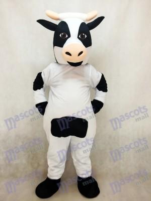 Nettes Milchkuh-Maskottchen-Kostüm