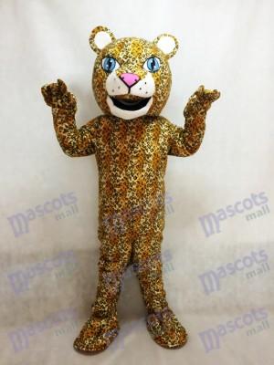 Realistisches Tier Jaguar Maskottchen Kostüm