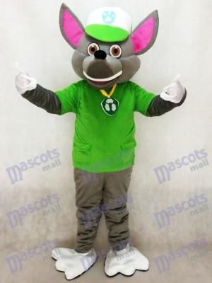 Paw Patrol Rocky Recycling Ökologie Welpen Maskottchen Charakter Kostüm Eco Pup