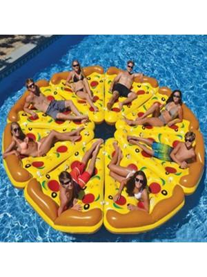 Aufblasbar Pizza Schwimmbad Schwimmt Ring Zum Erwachsene Kinder