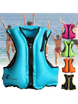 Aufblasbar Schwimmen Weste Leben Boje Schwimmen Surfen Wasser Sport