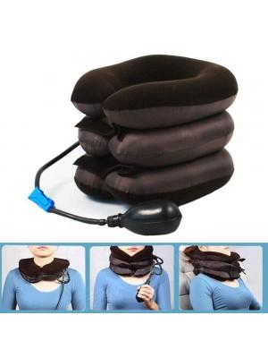 Aufblasbar U-Form Reise Kissen Auto Kopf Hals Sich ausruhen Nützlich