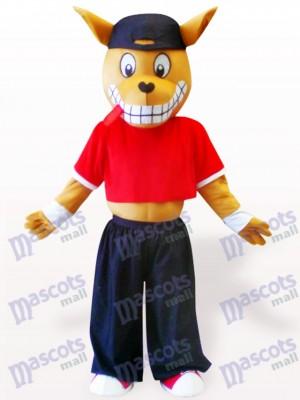 Holz Känguru Maskottchen Kostüm für Erwachsene