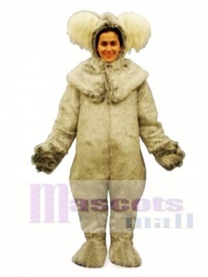 Koala mit Kapuze Maskottchen Kostüm