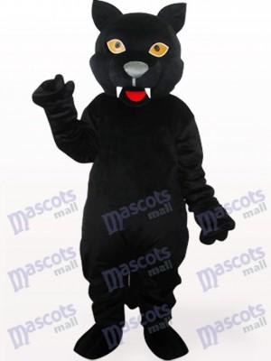 Schwarzer Panther Maskottchen Kostüm für Erwachsene