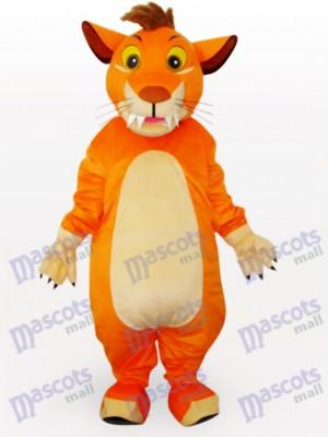 Löwe Tier Maskottchen Kostüm