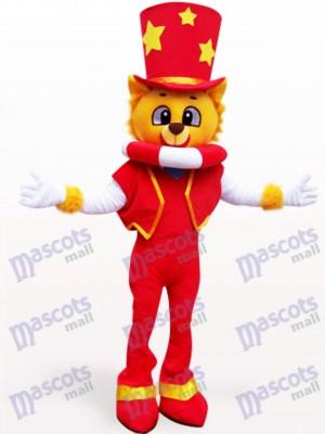Magier Löwe Maskottchen Kostüm für Erwachsene