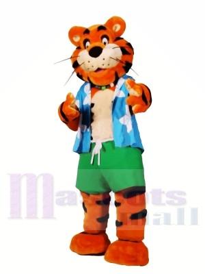 Sport Leichte Tiger Maskottchen Kostüme