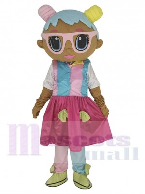 LOL Puppe Bonbon maskottchen kostüm