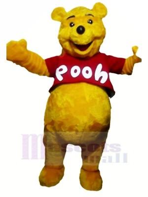Lächelnd Winnie Pooh Bär Maskottchen Kostüme Karikatur