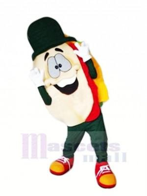 Lecker Pita-Brot Maskottchen Kostüm Karikatur