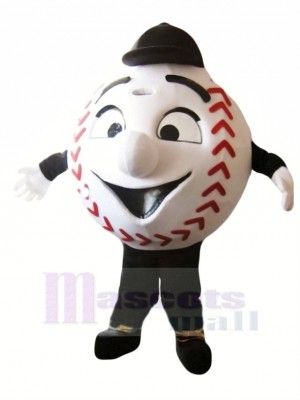 Komisch Baseball Maskottchen Kostüm Karikatur