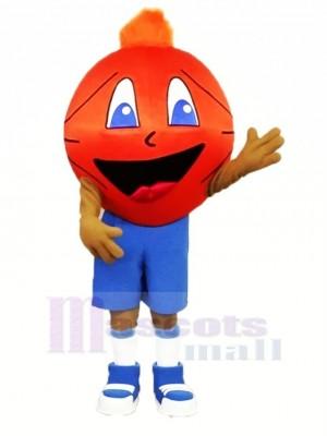 Komisch Basketball Maskottchen Kostüm Karikatur