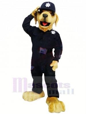 Beste Qualität Polizei Hund Maskottchen Kostüm Karikatur