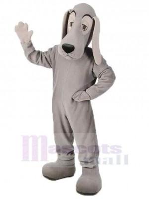 Power Grey Husky Hund Maskottchen Kostüm Tier Erwachsener