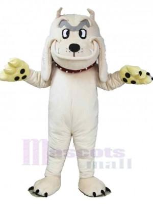 Weißer Shar Pei Hund Maskottchen Kostüm Tier