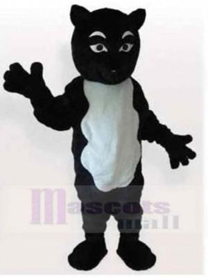 Lustige schwarz-weiße Katze Passen Maskottchen Kostüm Tier