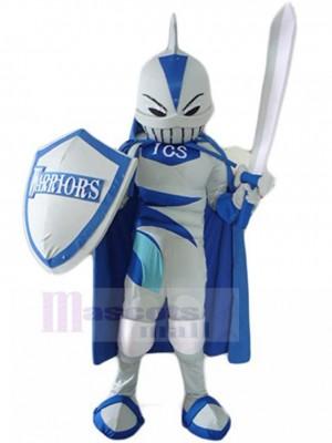 Gut ausgestattet Hai Ritter Maskottchen Kostüm Menschen