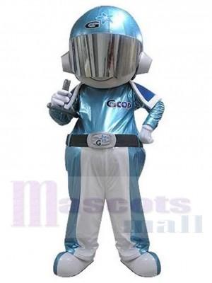 Cute Astronaut Boy Space Mascot Costume People
