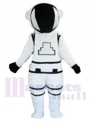 Weißer Astronaut Kosmonaut Maskottchen Kostüm Menschen