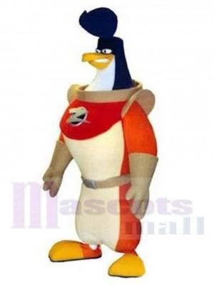 Wilder Astronaut Pinguin Kosmonaut Maskottchen Kostüm Tier