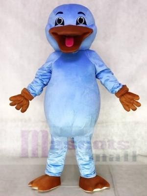 Nettes hellblaues Platypus Maskottchen Kostüm Tier