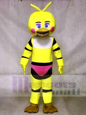 Fünf Nächte FNAF bei Freddys Toy Chica Maskottchen Kostümen Animal