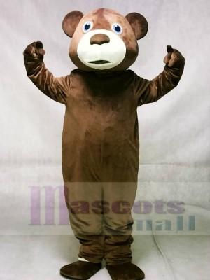 Braun Tommy Teddybär Maskottchen Kostüme Tier