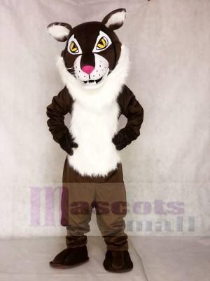 Braunes wildes Bobcat Maskottchen Kostüm Tier