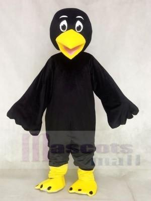 Schwarz Vogel Raven Maskottchen Kostüme Tier