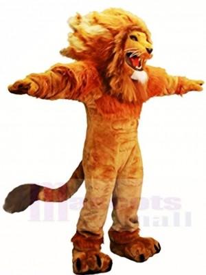 Heftig Löwe König Maskottchen Kostüme Tier