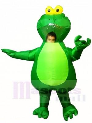 Grüner Frosch Aufblasbar Halloween Weihnachten Kostüme für Erwachsene