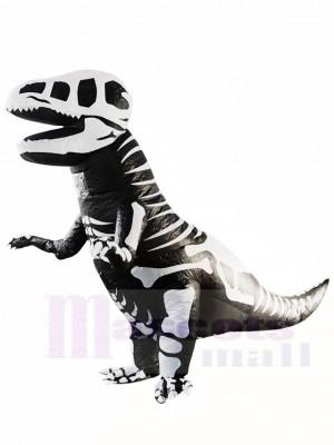 Skelett T-REX Schädel Dinosaurier aufblasbare Halloween Weihnachts kostüme für Erwachsene