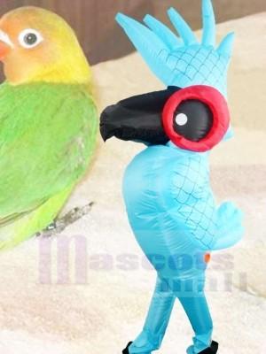 Rio Blau Papagei Vogel Aufblasbar Halloween Weihnachten Sprengen Sie Kostüme für Erwachsene