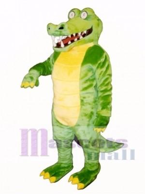 Brawny Gator Maskottchen Kostüm