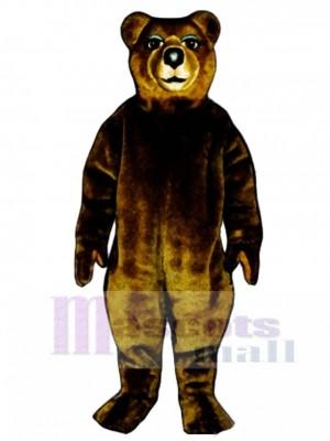 Mrs. Brown Bear Mascot Costume