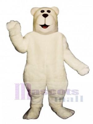 Arktischer Bär Weihnachtsmaskottchen Kostüm
