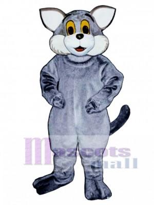 Nettes graues Katzen Maskottchen Kostüm