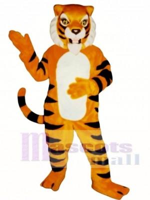Nettes wildes Tiger Maskottchen Kostüm Tier