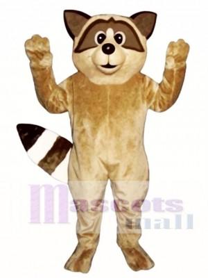 Nettes Waschbär Maskottchen Kostüm Tier