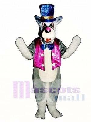 Niedlicher Wolf A-Mania mit Weste Maskottchen Kostüm