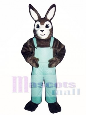Ostern J.R. Hase Kaninchen mit Lätzchen Overall Maskottchen Kostüm