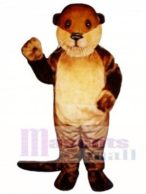 Ollie Otter Maskottchen Kostüm