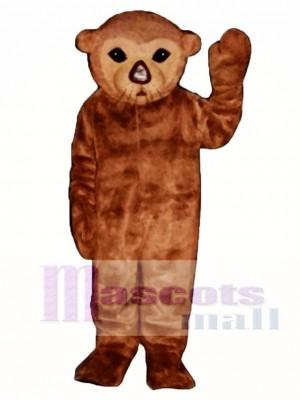 Niedlich Realistisch Sea Otter Maskottchen Kostüm Tier