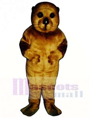 Nettes Baby Otter Maskottchen Kostüm Tier