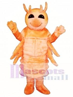 Niedlich Shrimp Maskottchen Kostüm Tier