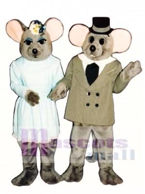 Fräulein Maus Maskottchen Kostüm